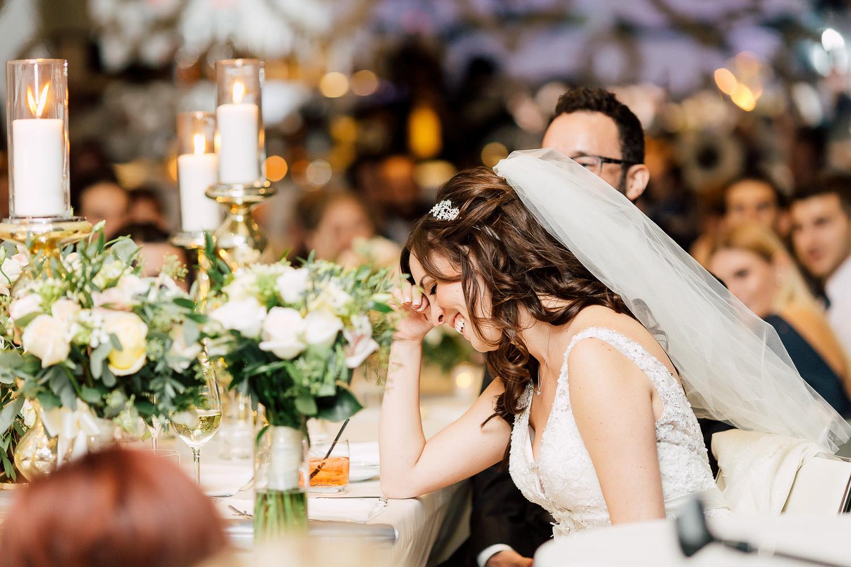 bride reception speeches