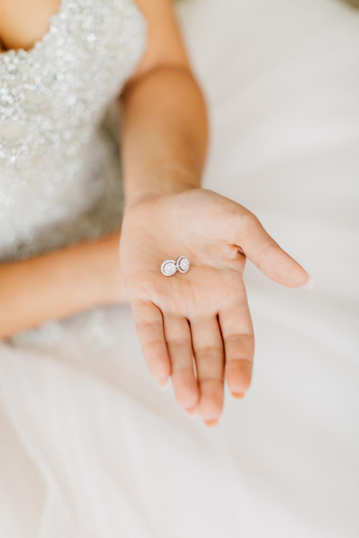 bride's earrings shangri la