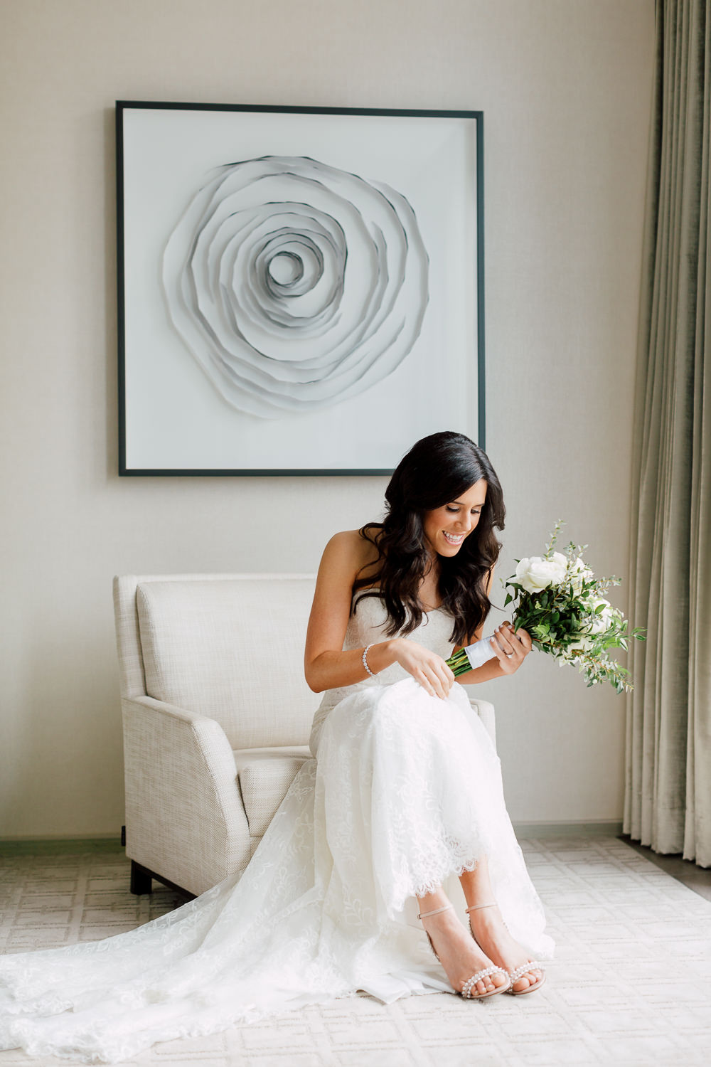 monique lhullier bridal dress