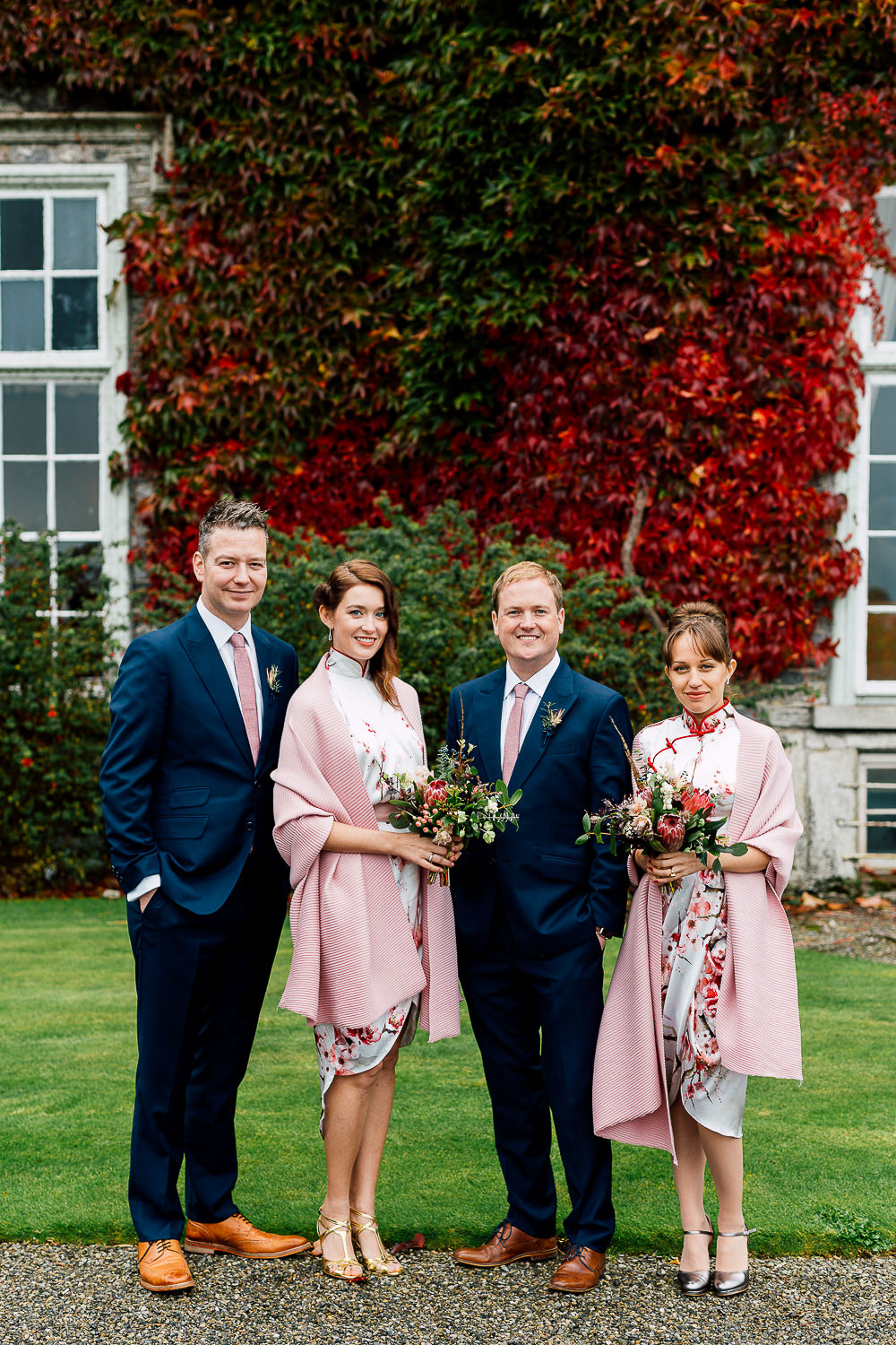 bridal party portraits ireland