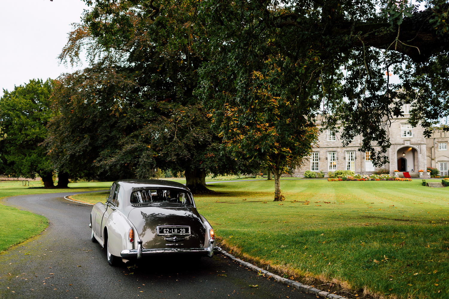 destination wedding ireland car