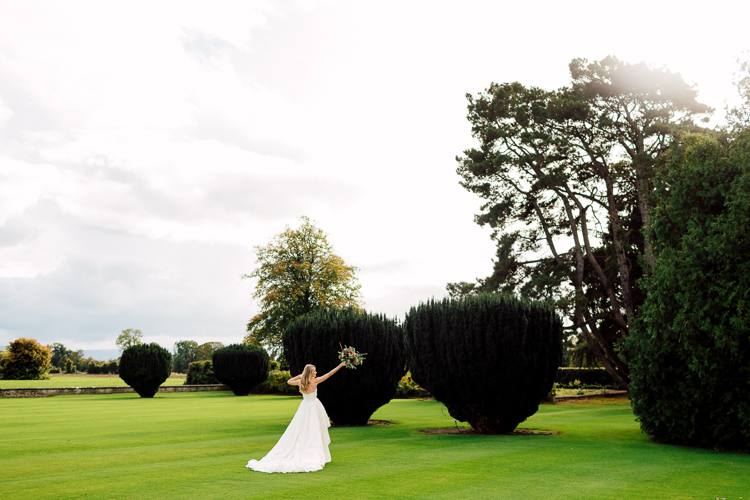 luttrellstown bridal portrait