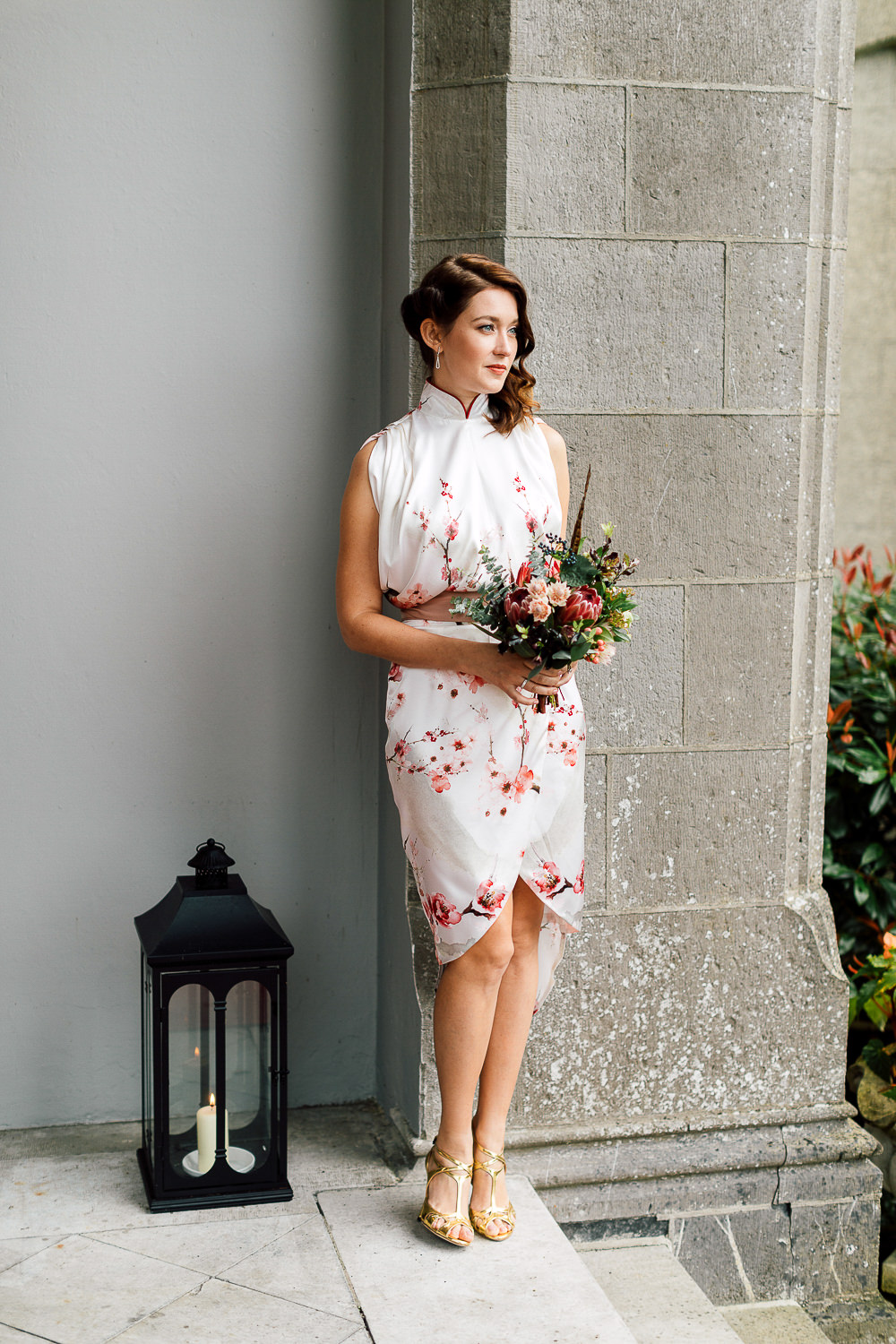 custom hongkong bridal party dress