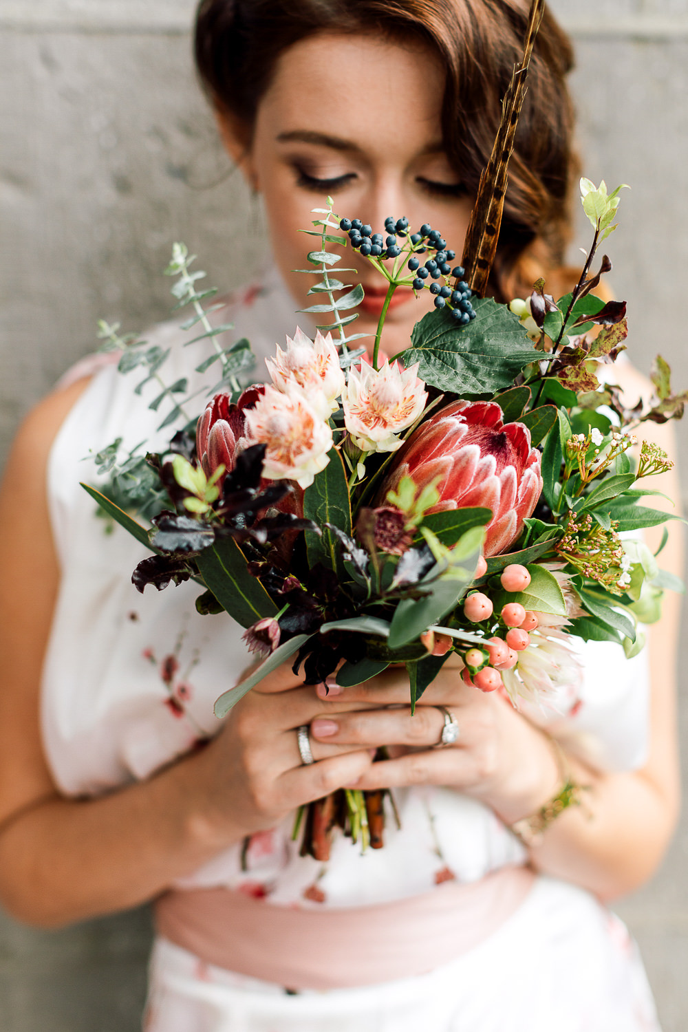 French Touch bouquet florals