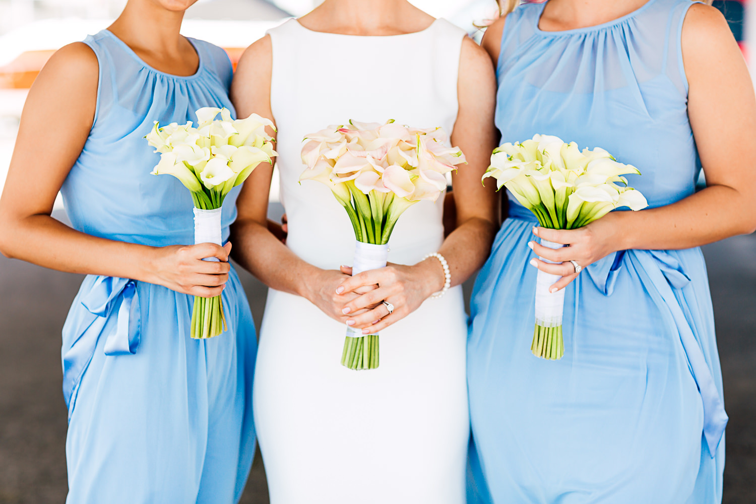 bridesmaids muskoka wedding
