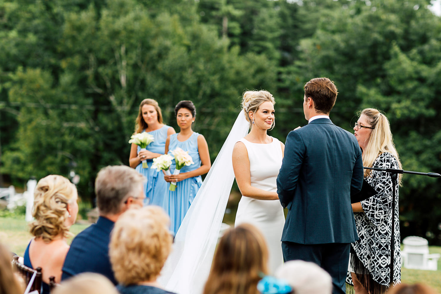 muskoka wedding ceremony