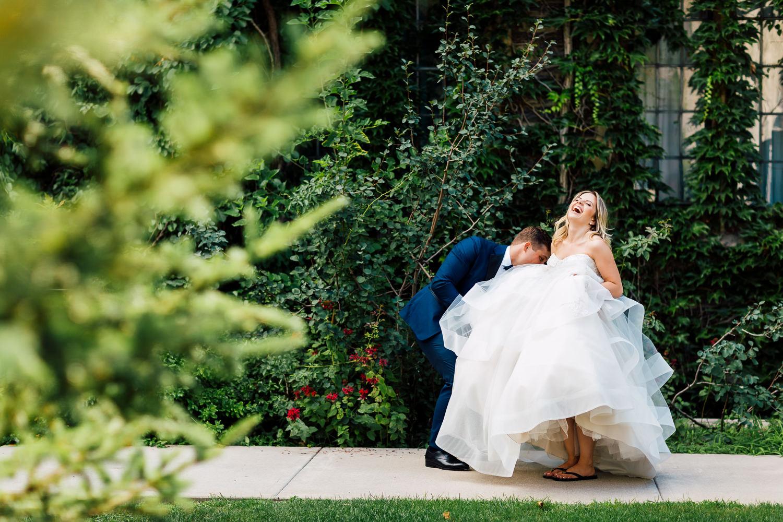 uoft wedding portraits