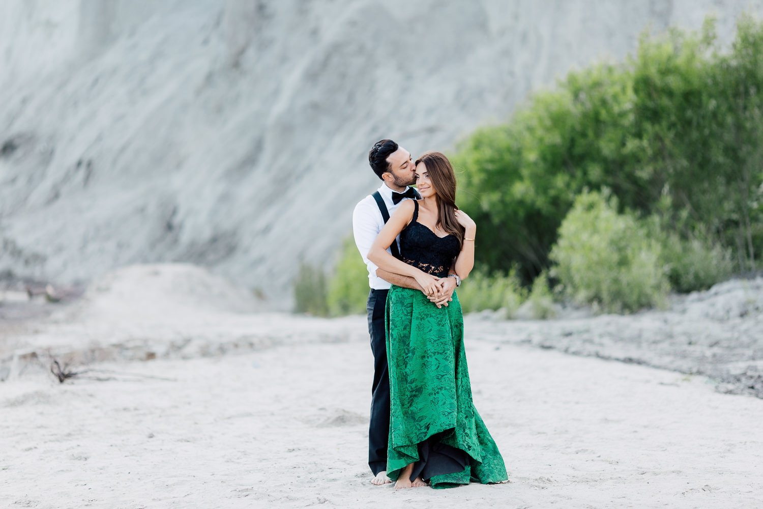 engagement shoot bluffs