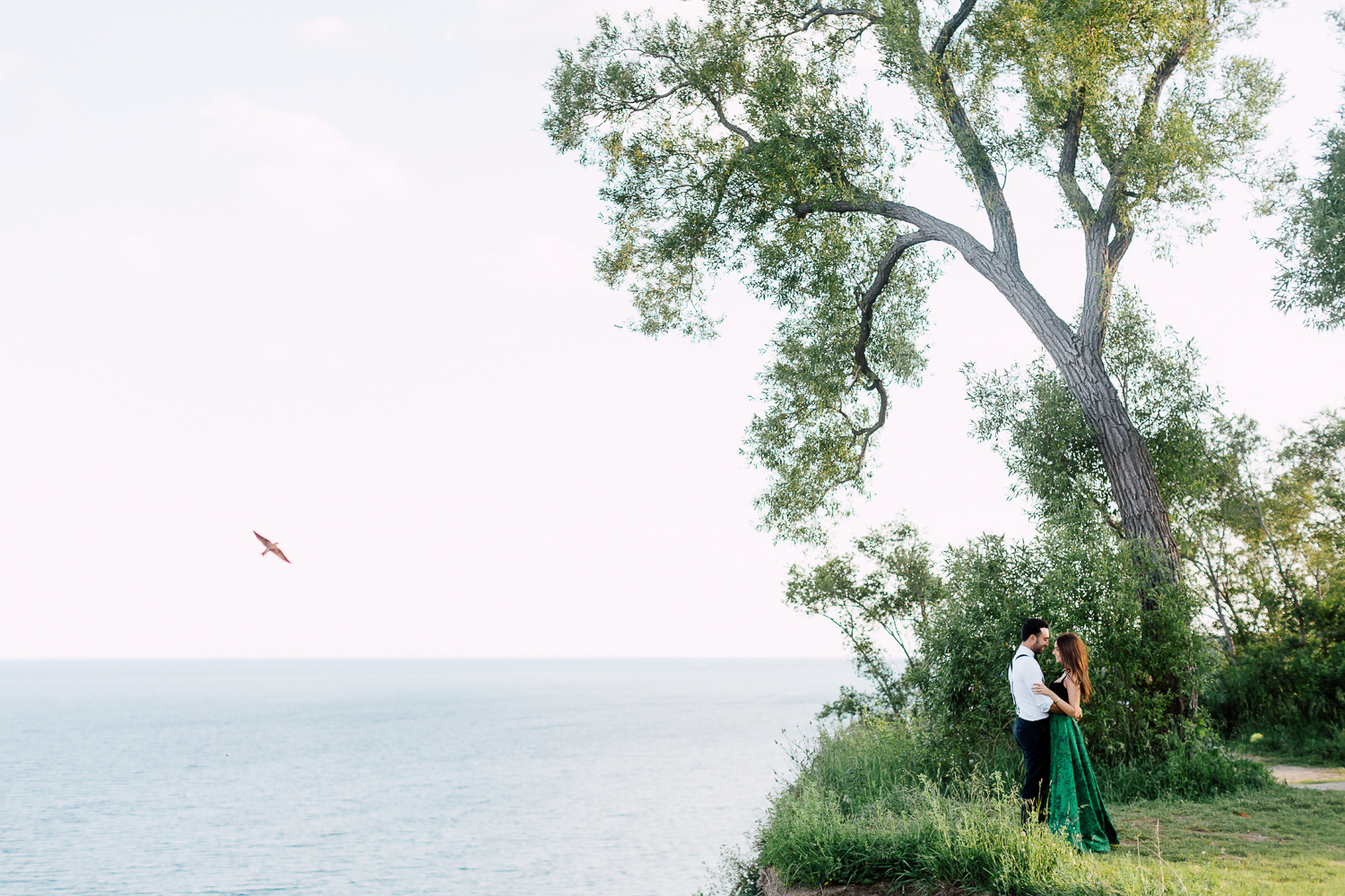 cliff side engagement
