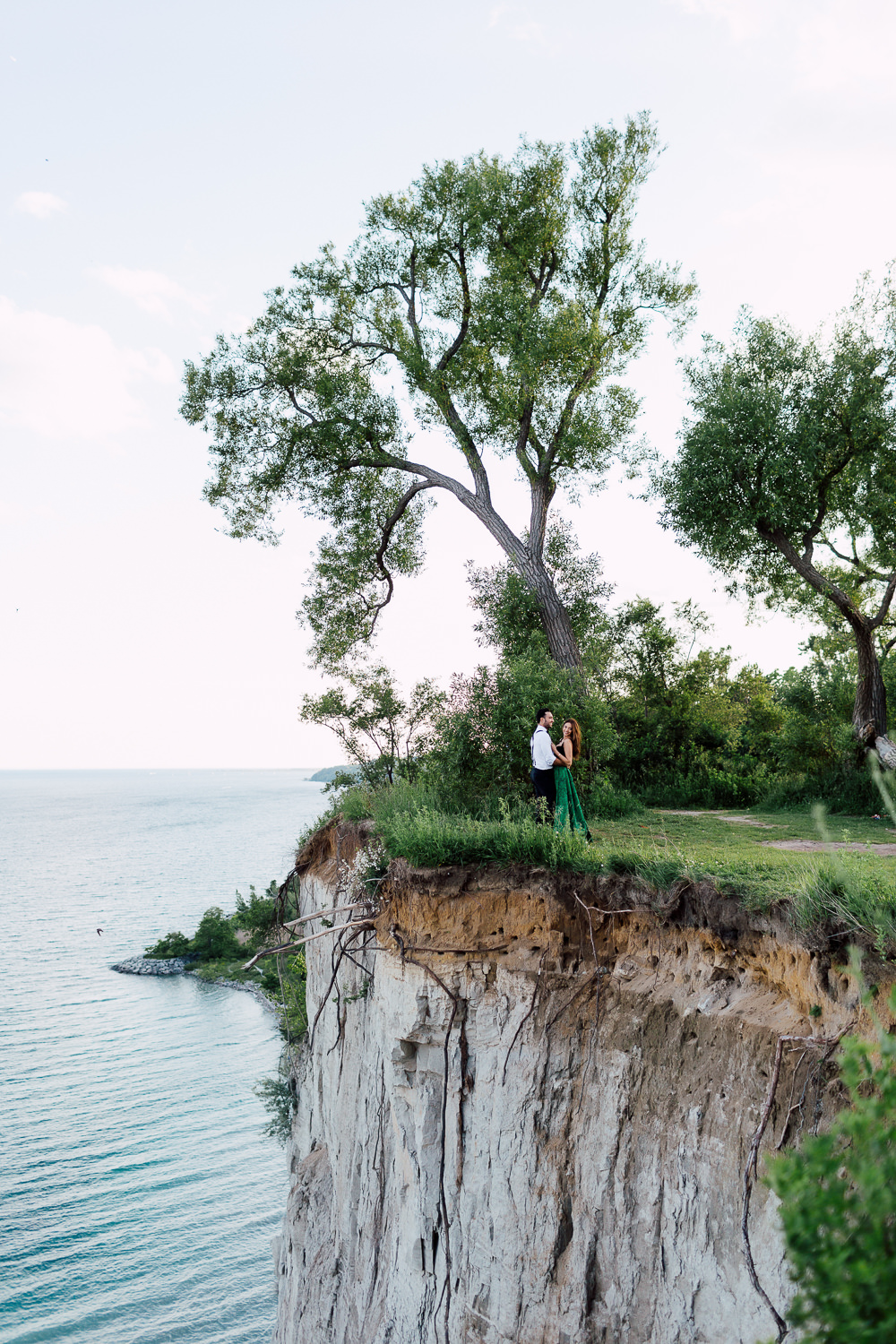 scarborough bluffs park engagement