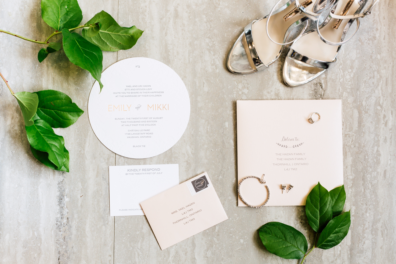 the write invite stationery