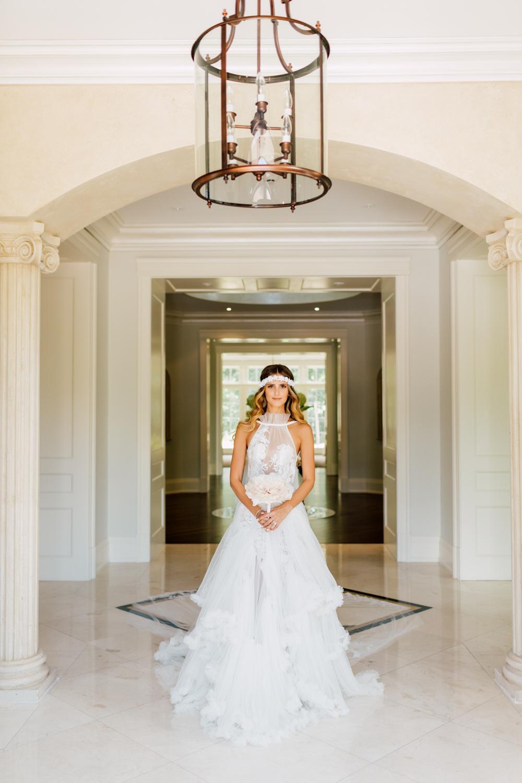 tal kahlon wedding gown
