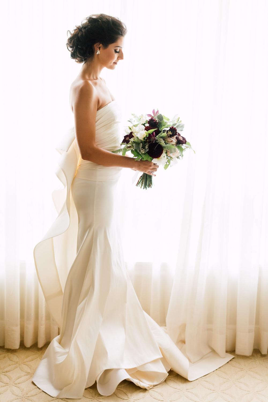 white toronto gown