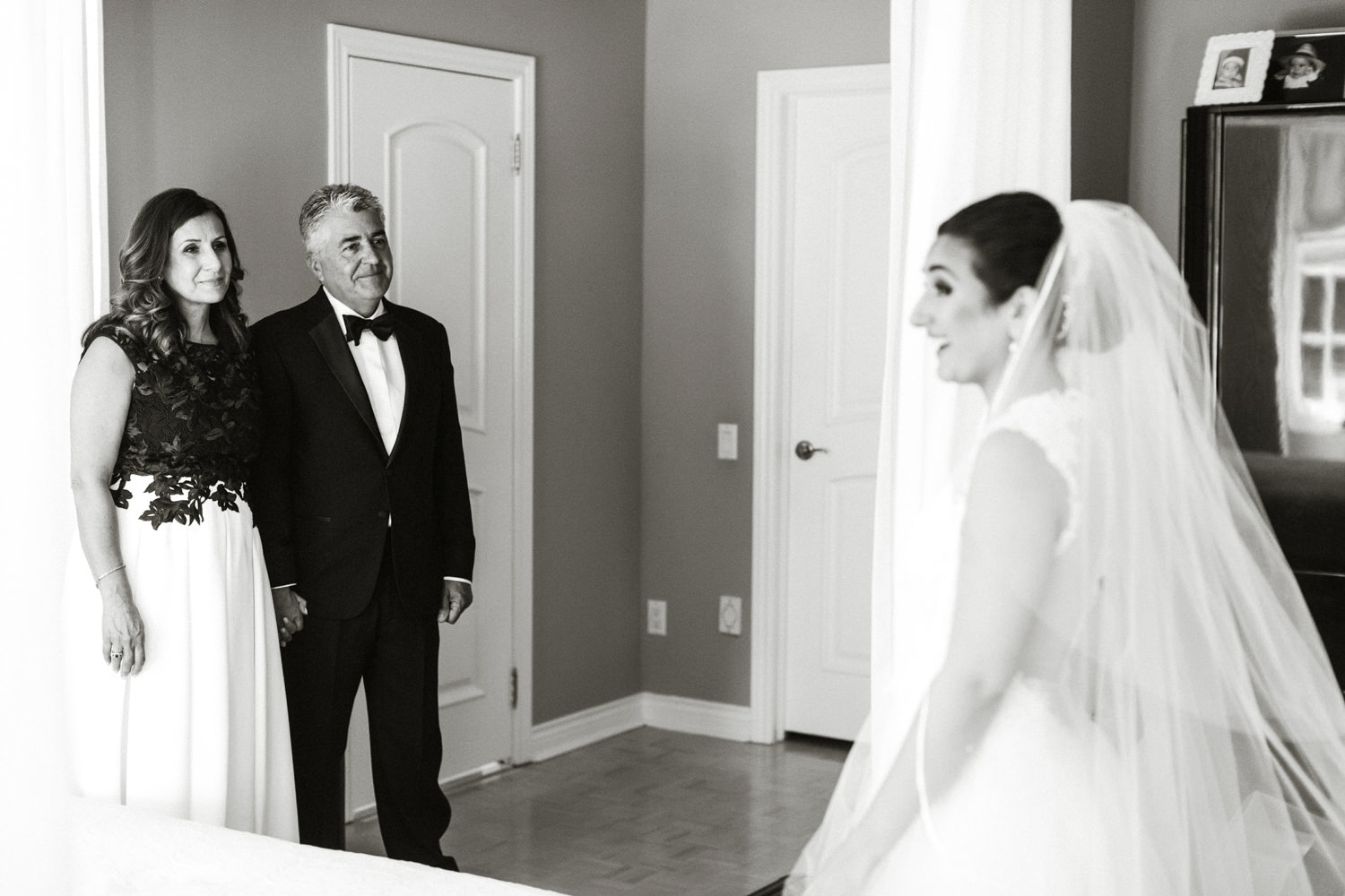father bride first look