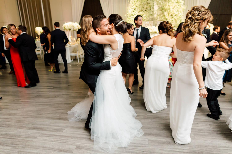 bride groom dance