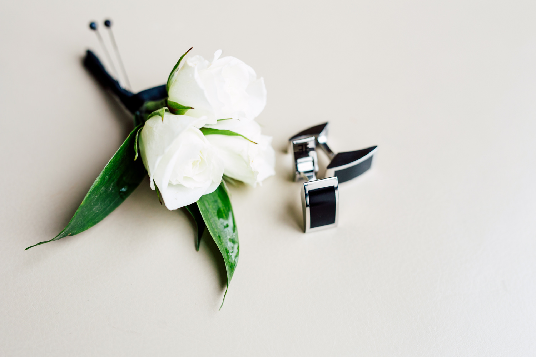 groom's cufflinks