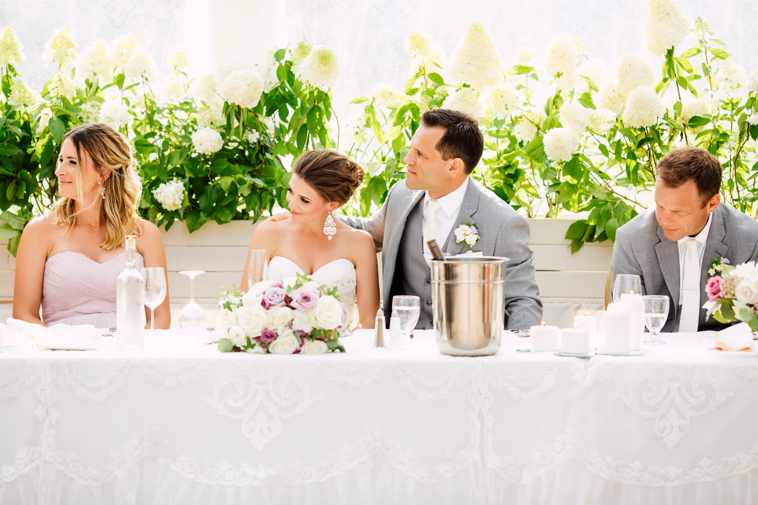 communal head table