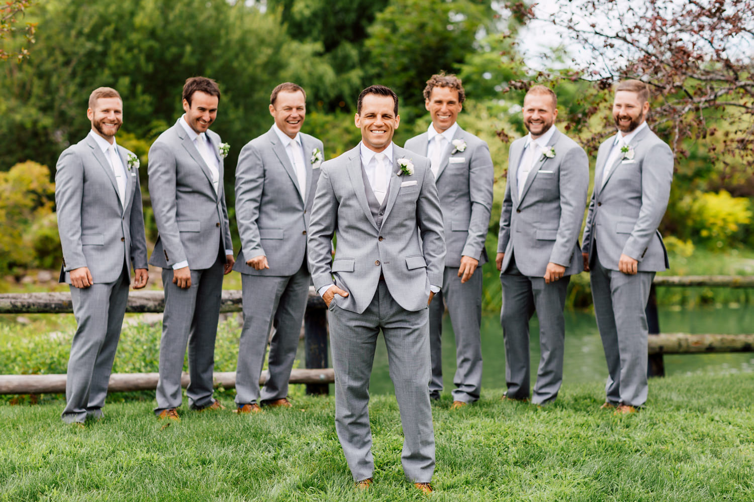 grooms men photo