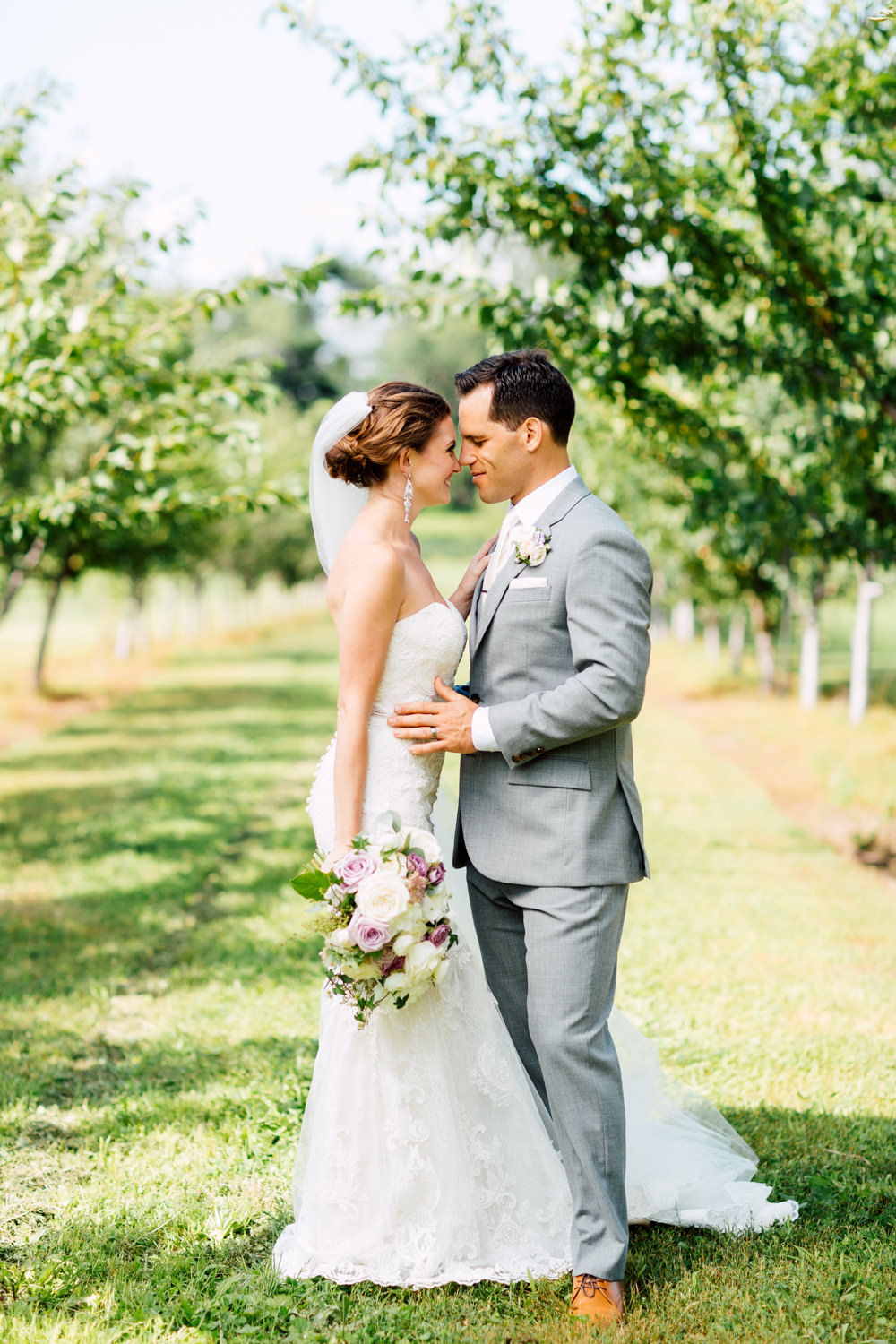summer wedding portraits