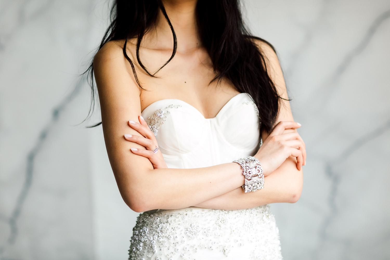 white toronto sweetheart dress