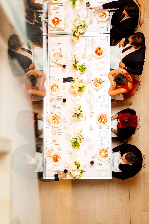 communal dinner table