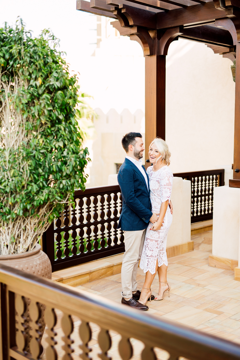 dubai engagement session