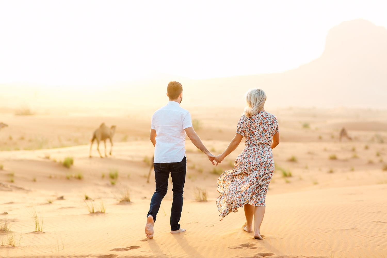 camel desert engagement