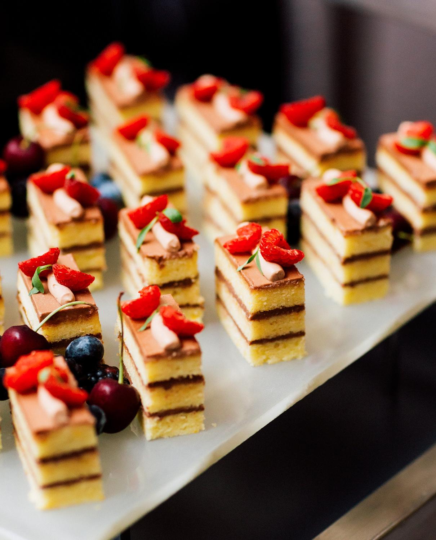 reception dessert