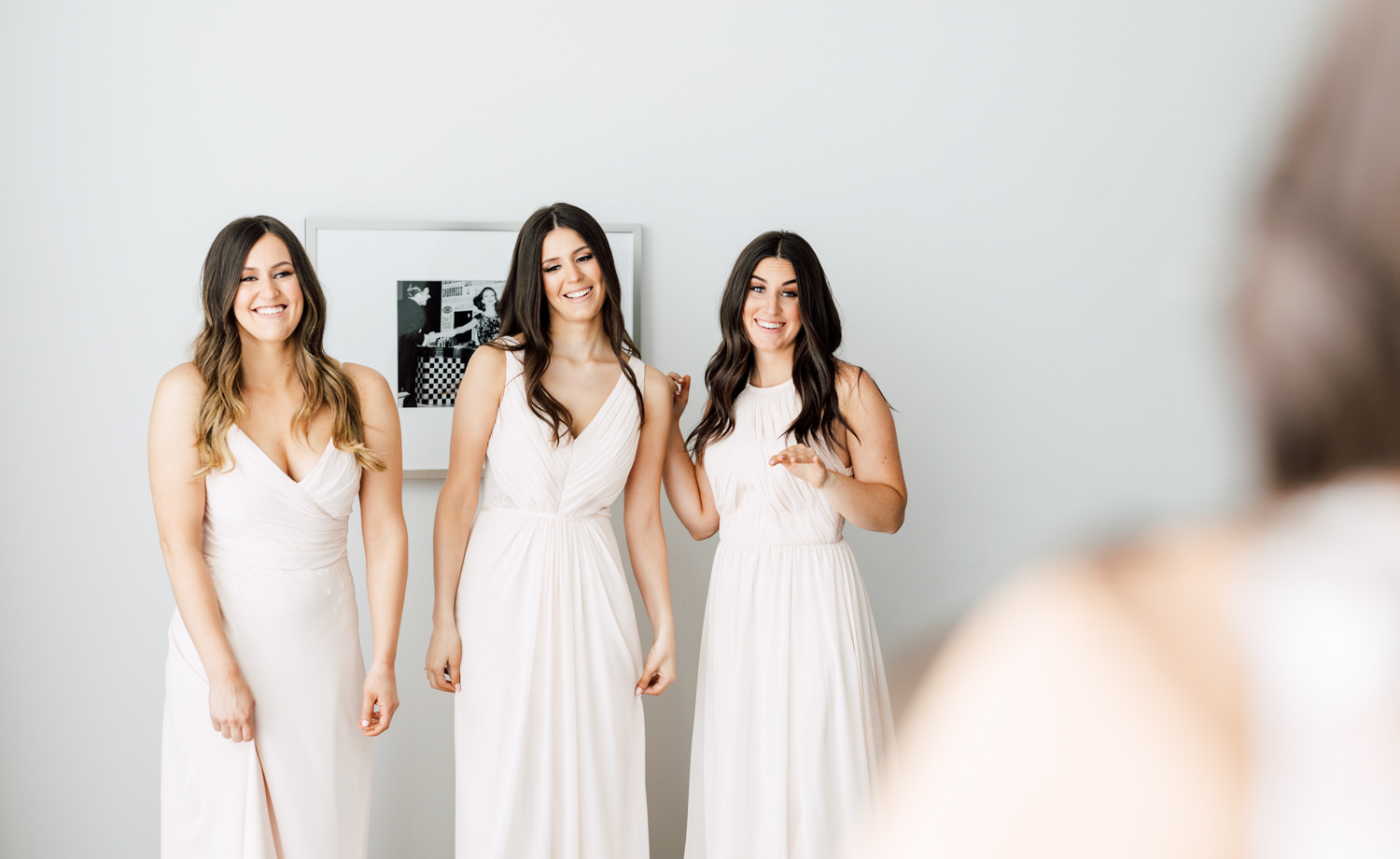 bridesmaids reveal
