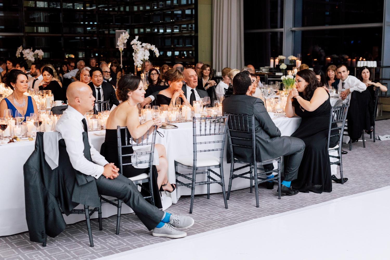 reception guests