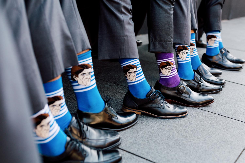 groomsmen matching socks