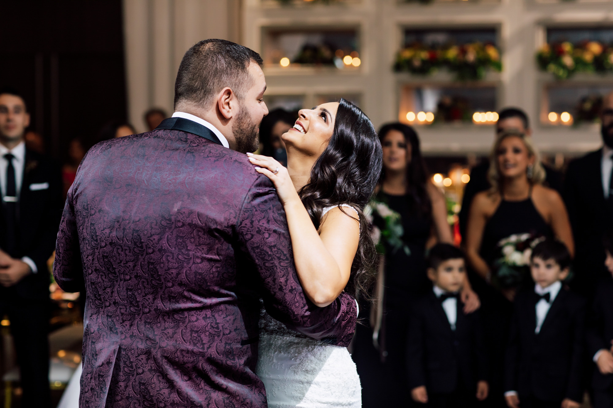 ashley and stefano wedding