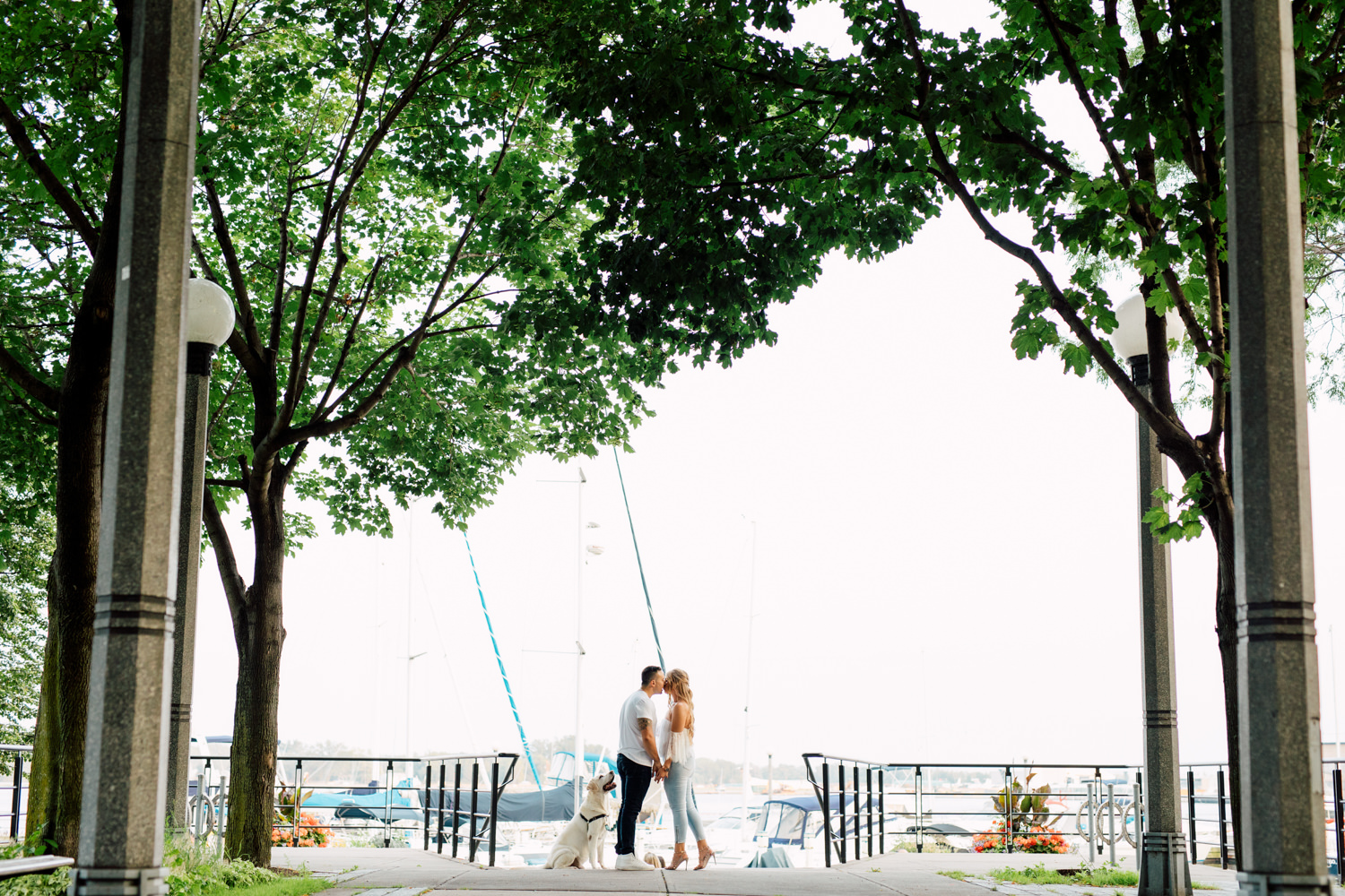 harbourfront kiss