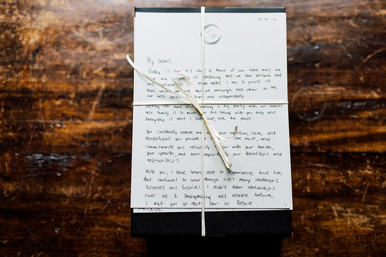 groom letter
