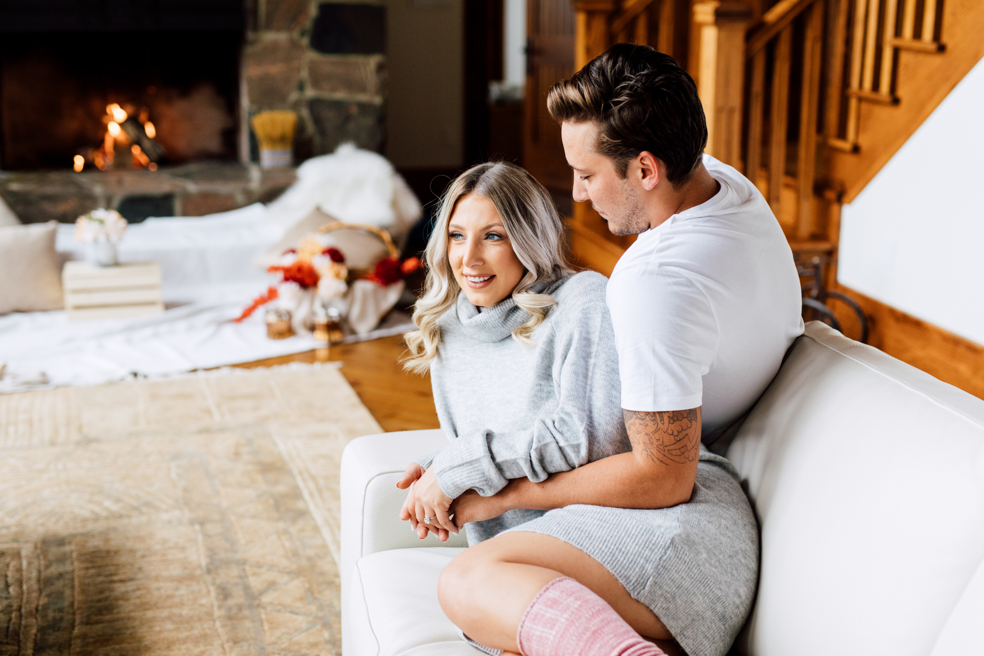 Cozy Cottage Engagement