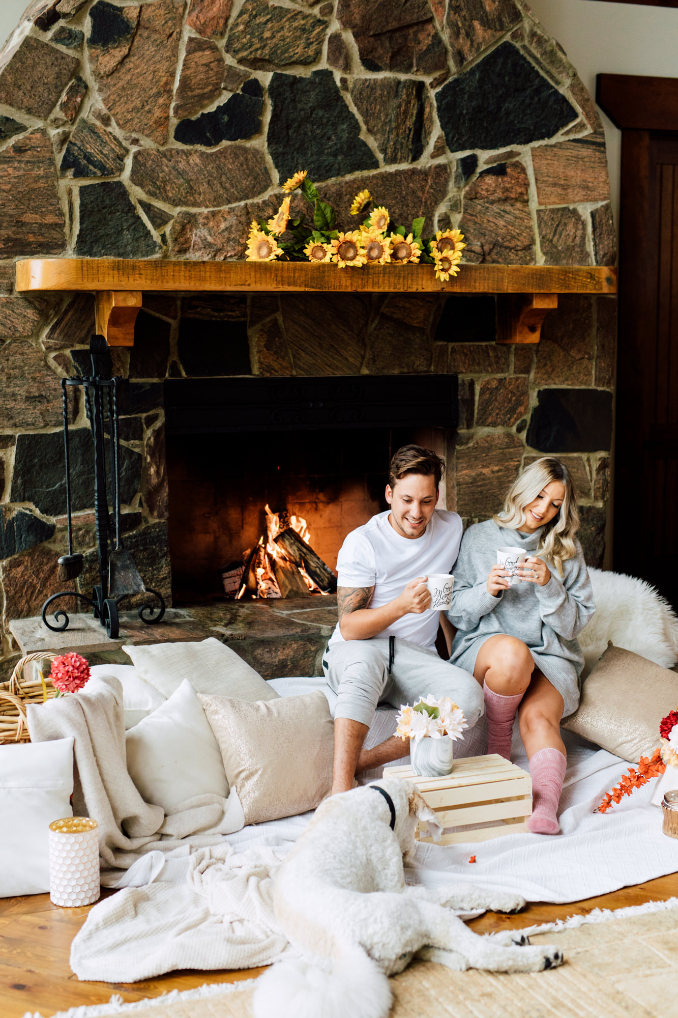 Fall Cottage Engagement