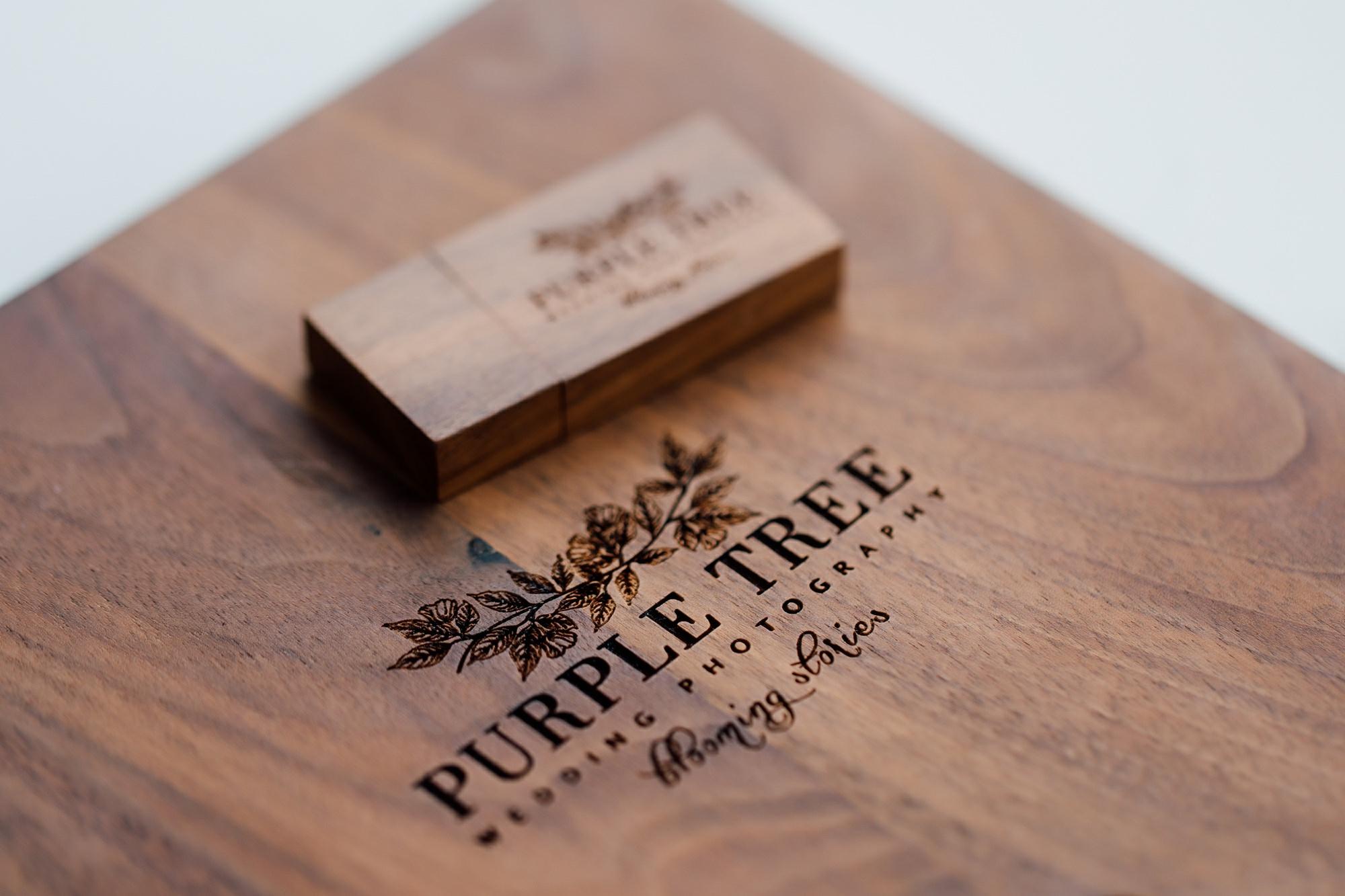 handcrafted walnut box