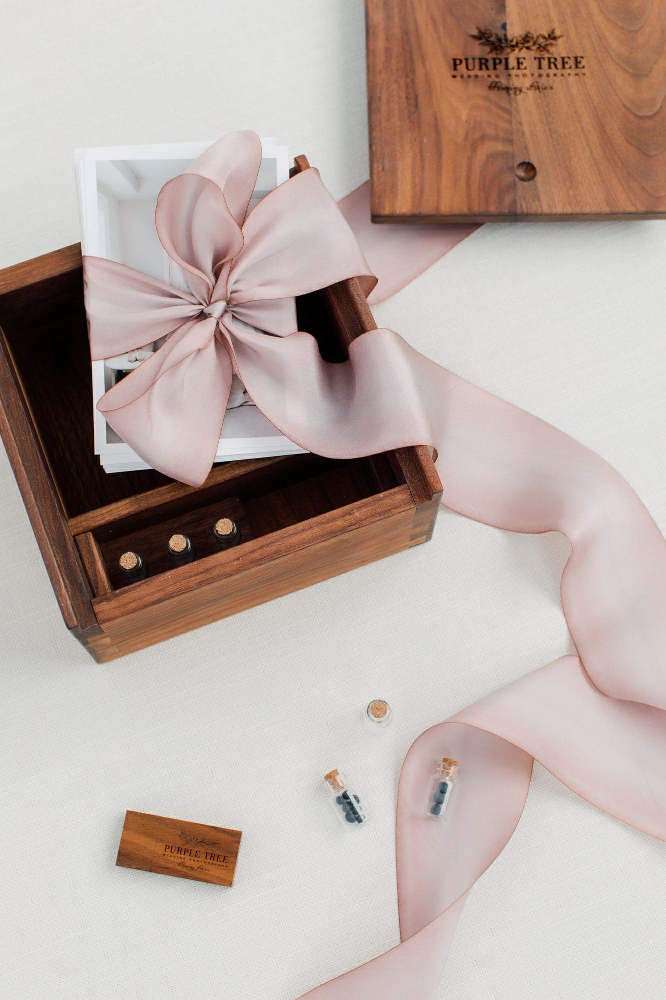 The Memory Box Preserving Your Wedding Purple Tree Wedding