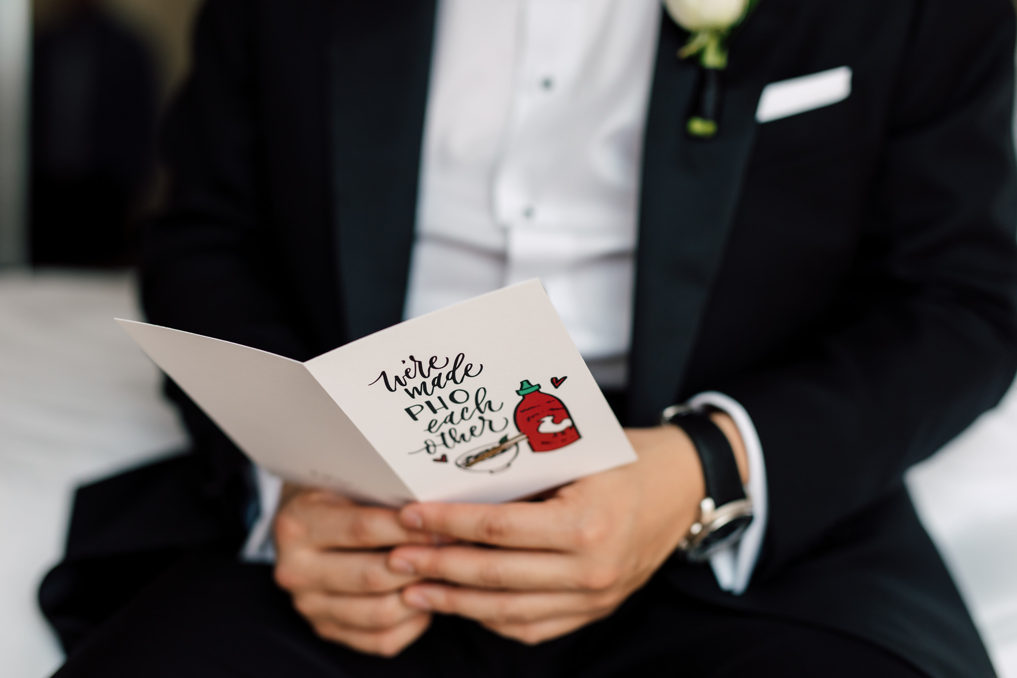 letter from bride