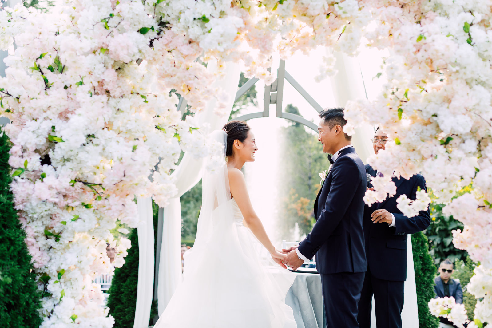 modern fairytale wedding