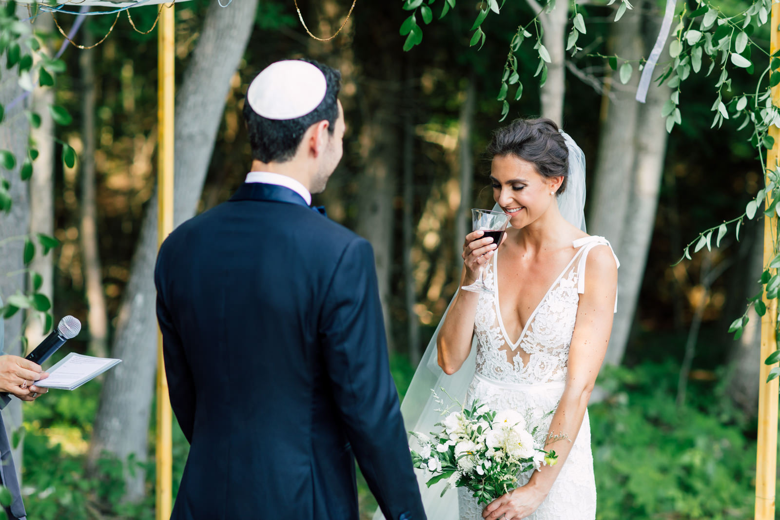 outdoor jewish ceremony