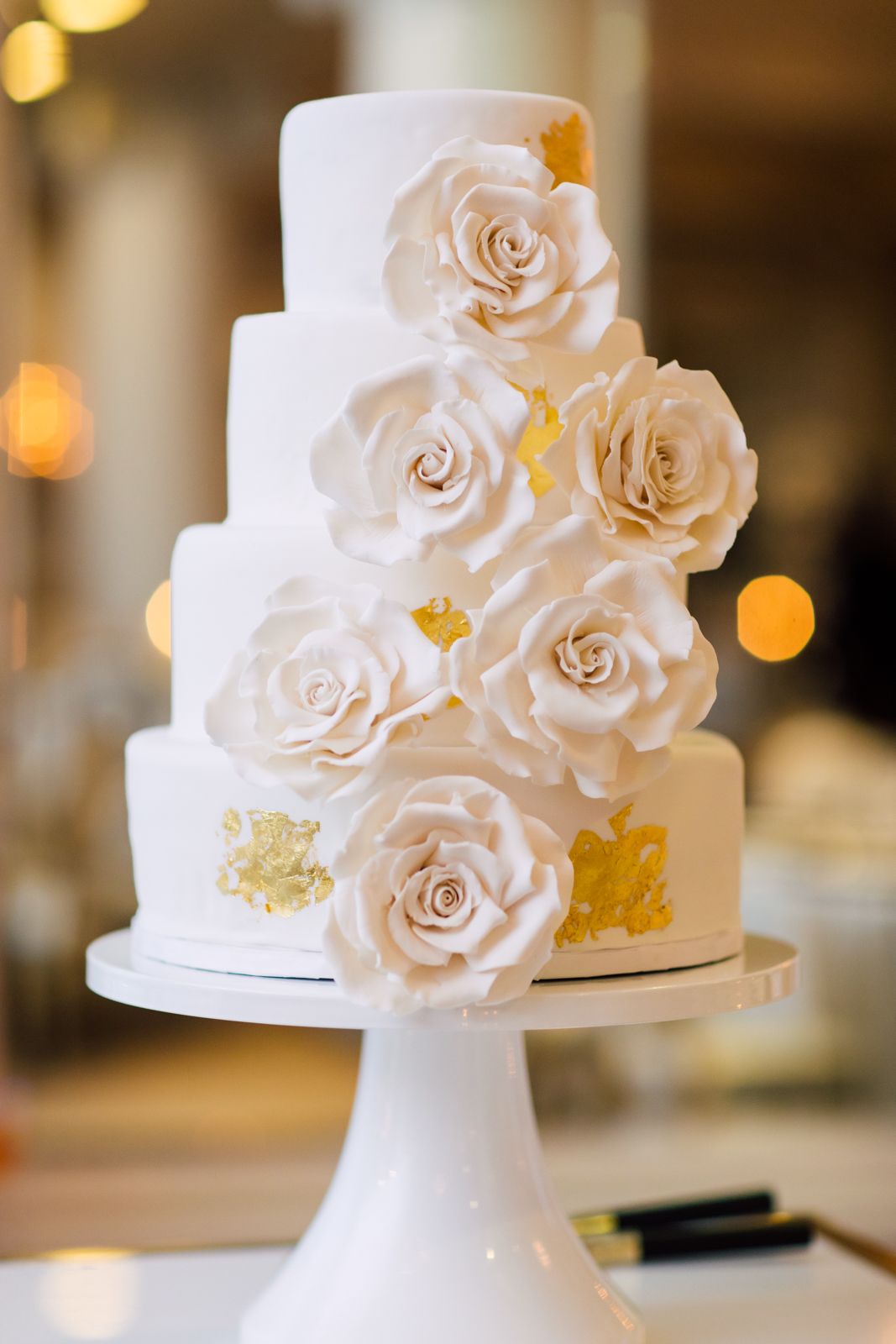 Ania Bialecki wedding cake