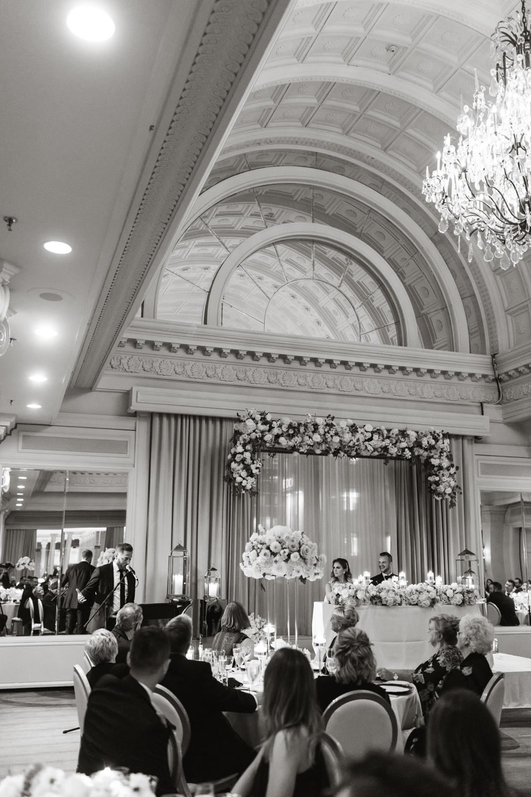 Opulent wedding