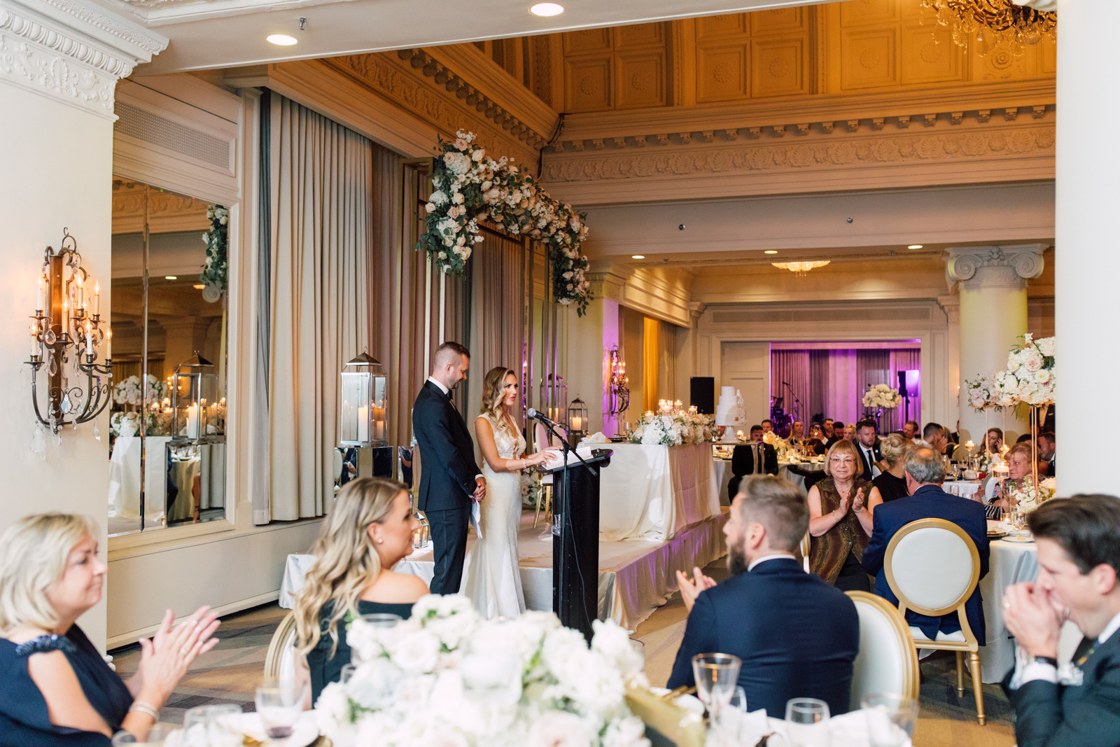Bride and groom speech