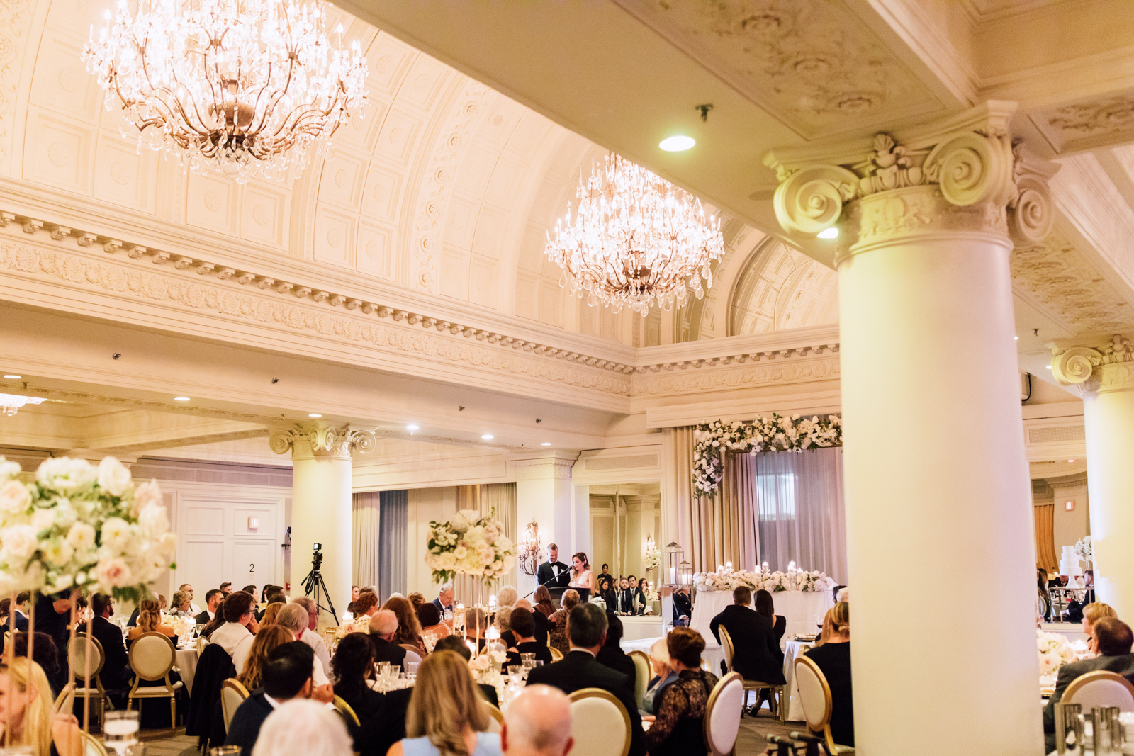 Opulent wedding speech