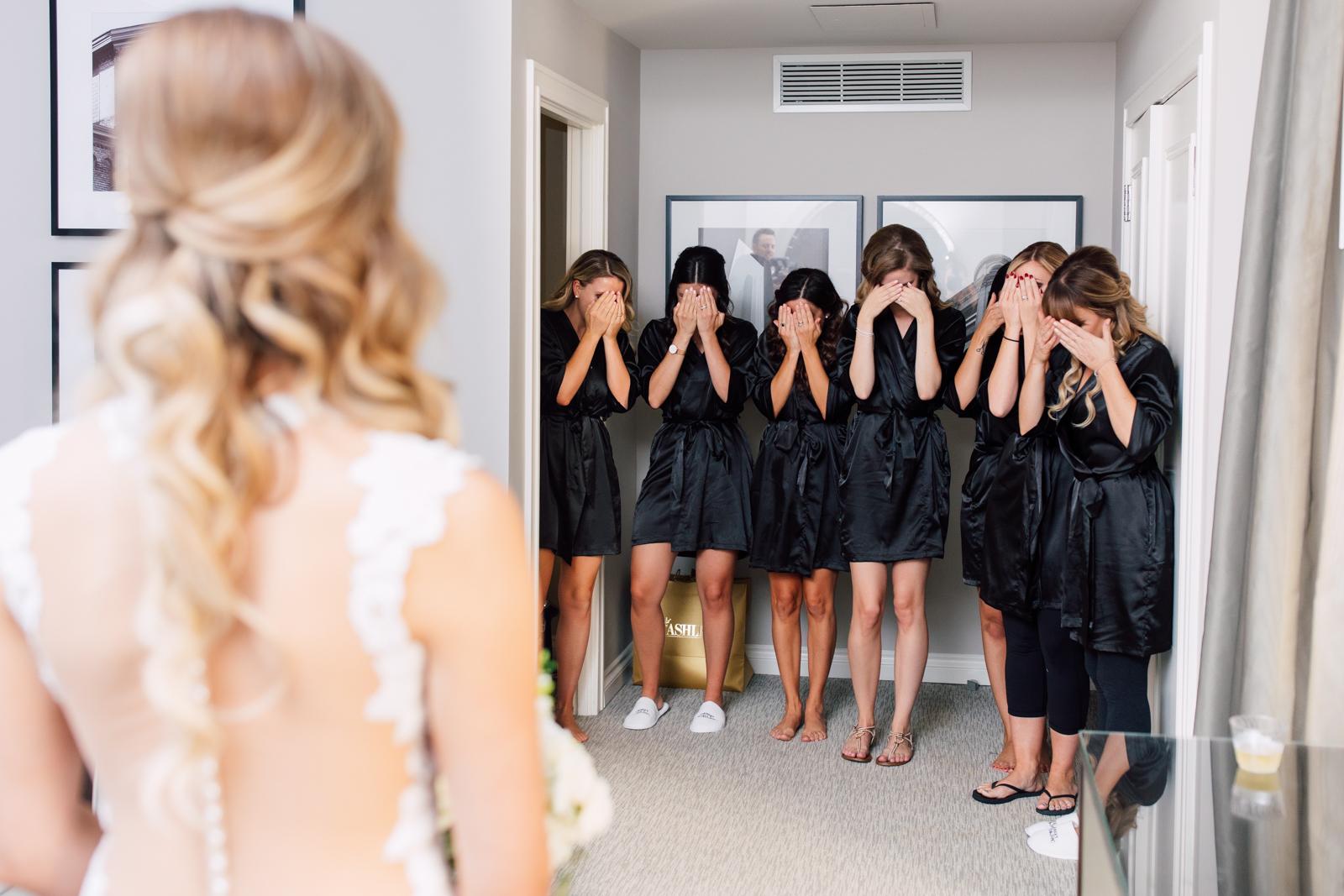 Bride reveal