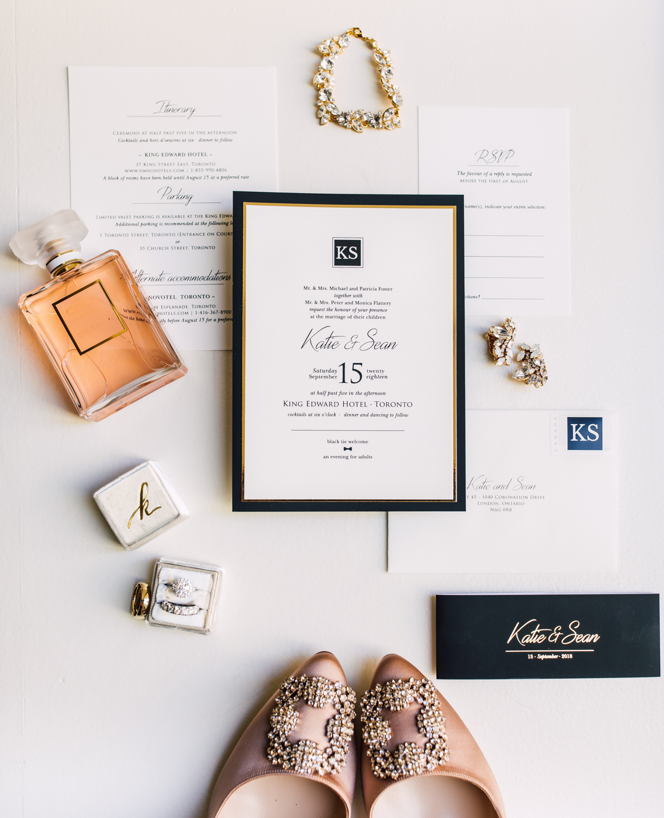 Primarily paper wedding stationery