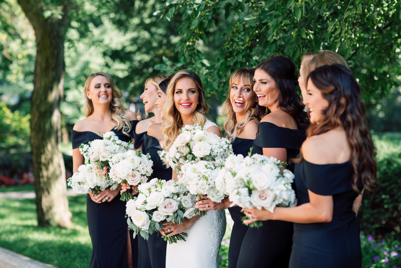 D'Alimonte Designs bridesmaids