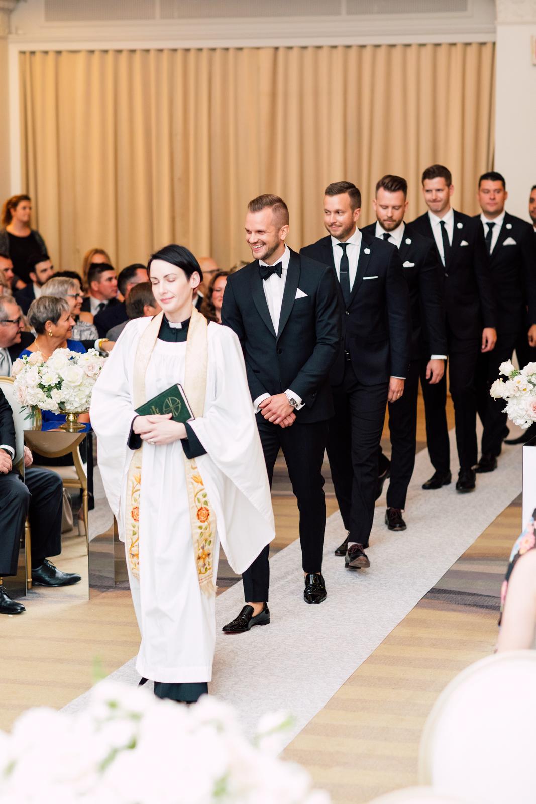 groomsmen processional