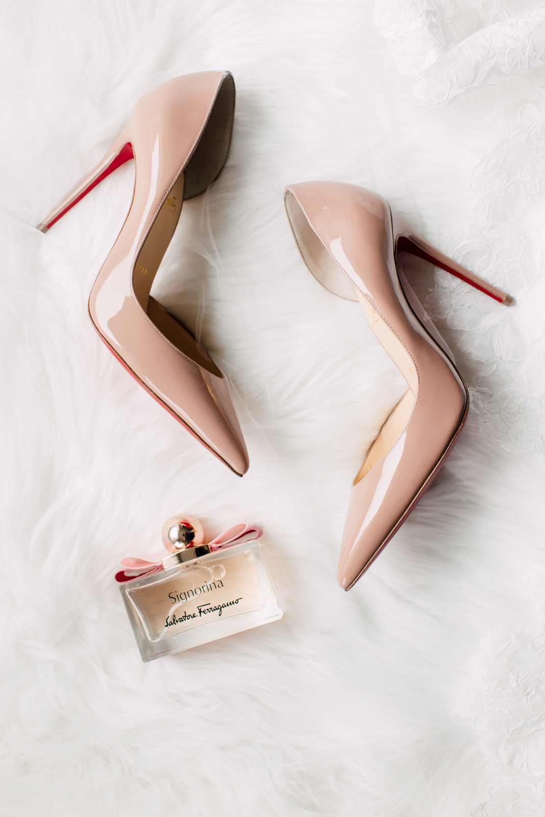 louboutin bridal heels